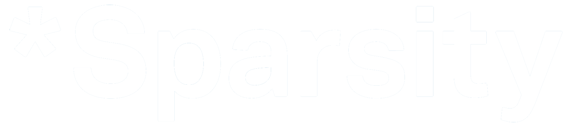 Sparsity-Technologies